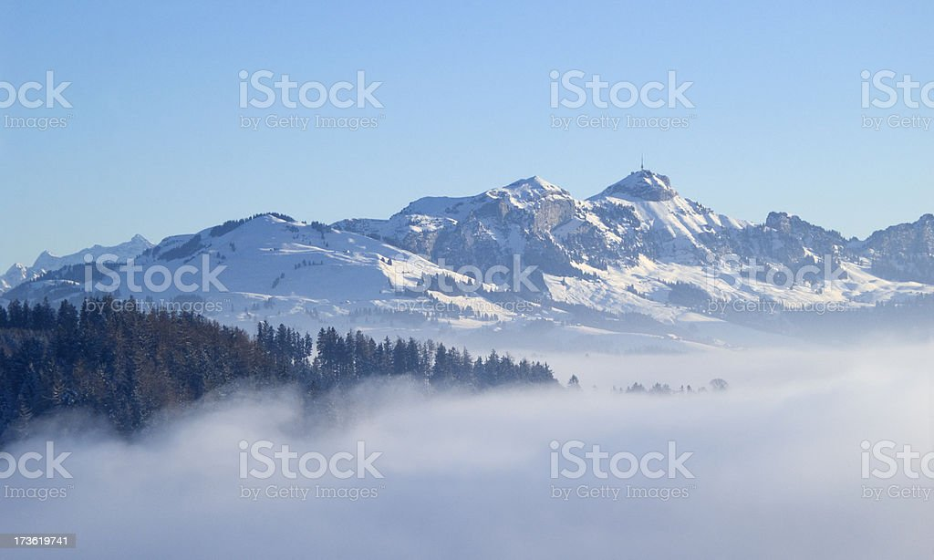 Alpine Winter stock photo