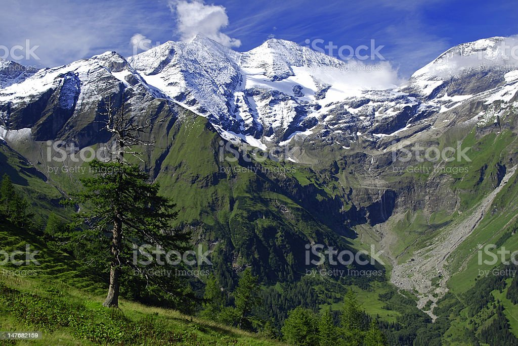 Alps - Grossclockner royalty-free stock photo