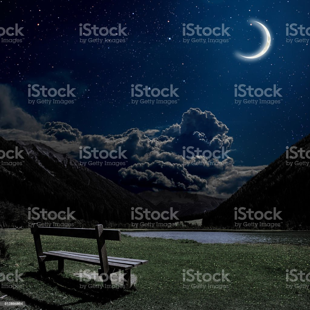 Alps in Austria stock photo