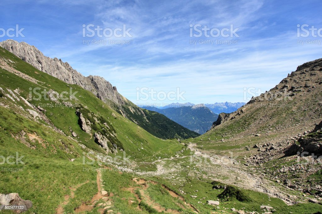 Alps in Austria stock photo