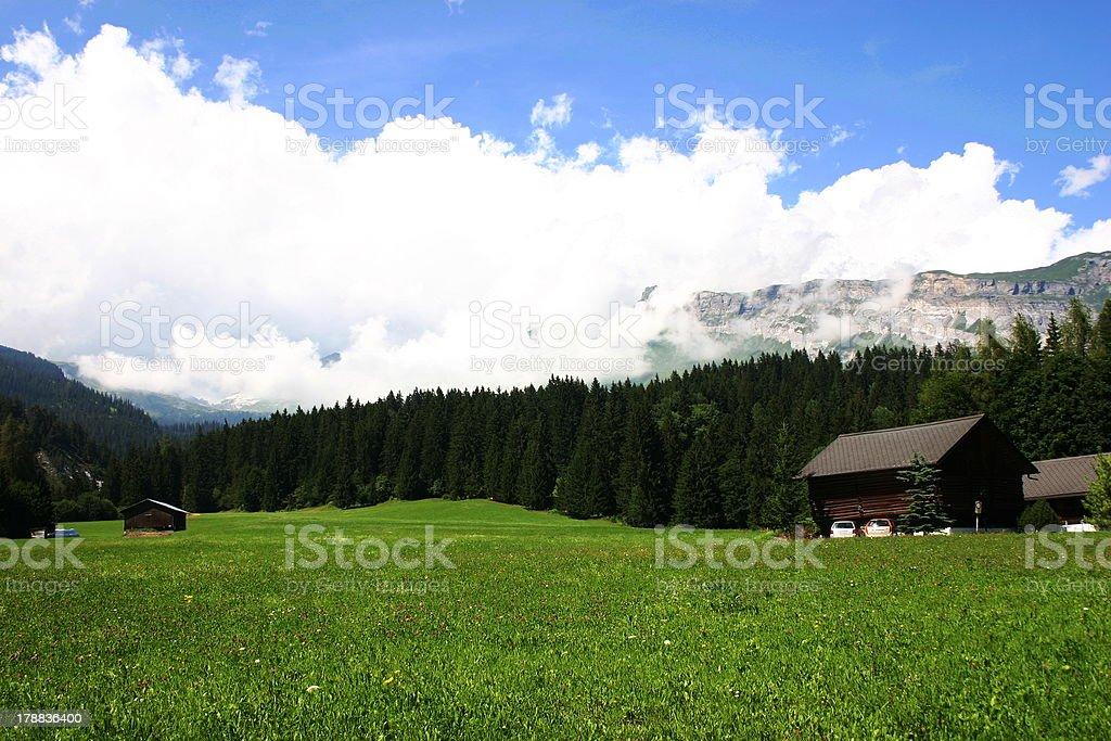 Alps Landscape of Southeat Germany royalty-free stock photo