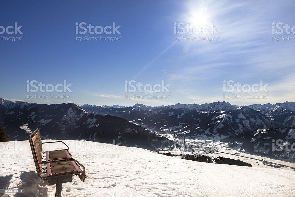 Alps Mountains of Austria royalty-free stock photo