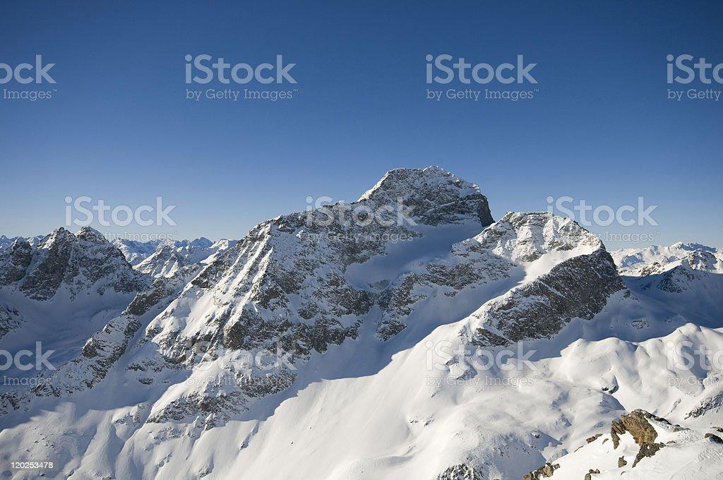 Alps Mountains royalty-free stock photo