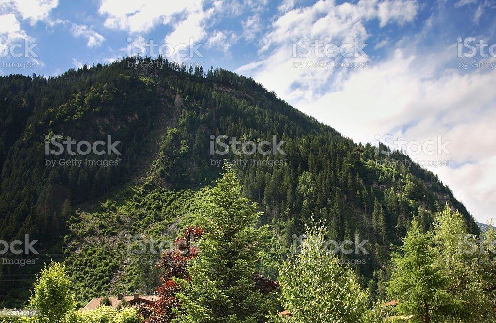 Alps near Mayrhofen. Austria stock photo