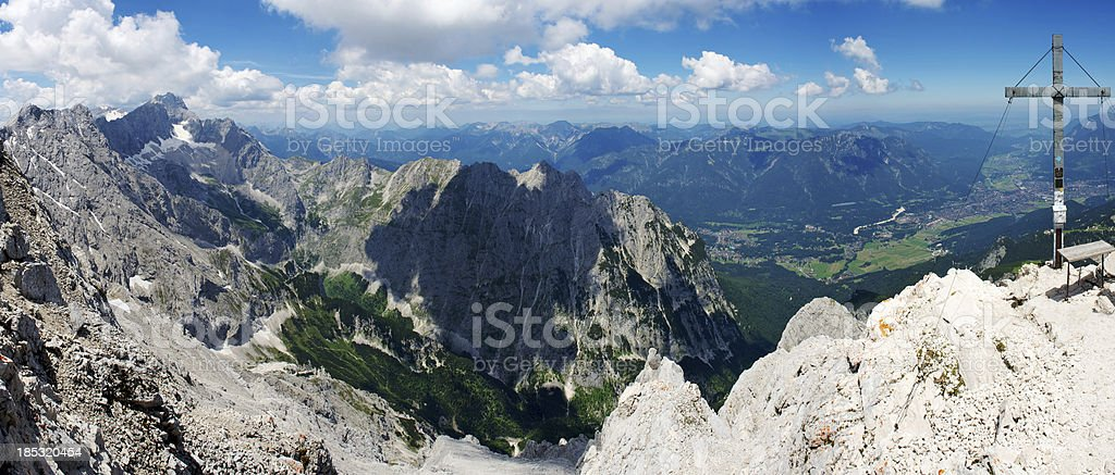 Alps panorama royalty-free stock photo
