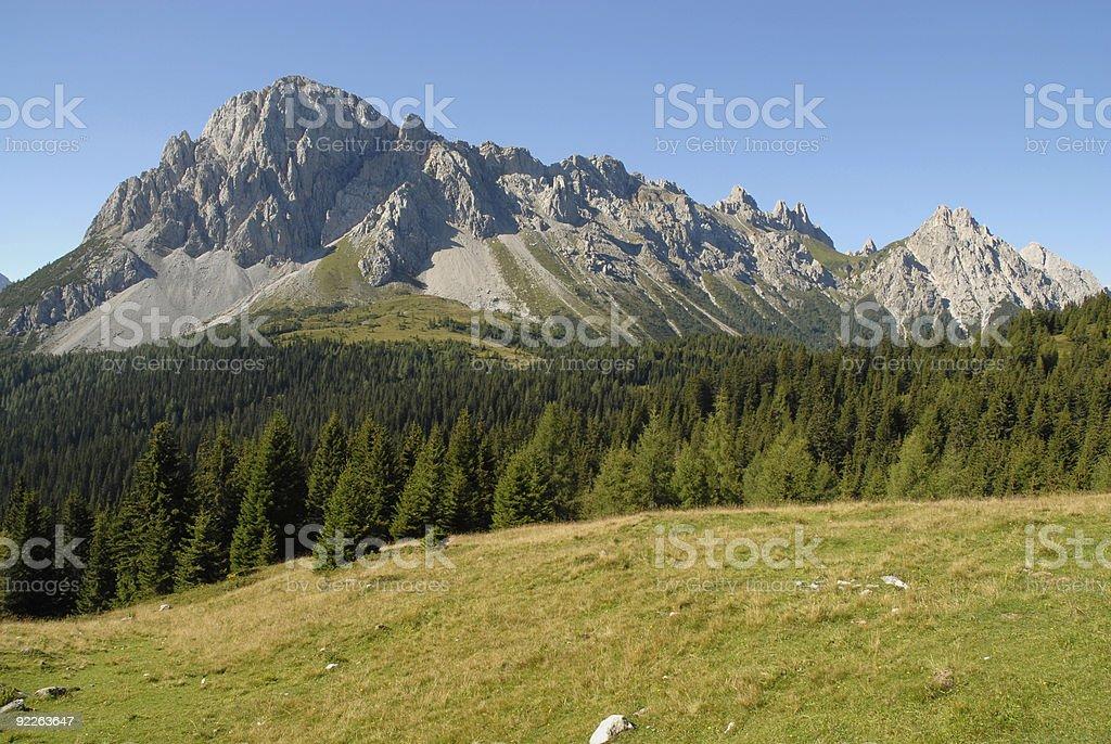 Alps Panorama royalty-free stock photo