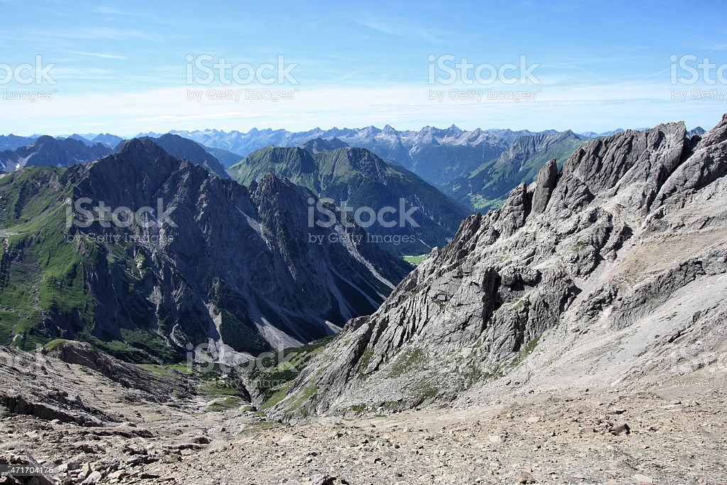 Alps stock photo