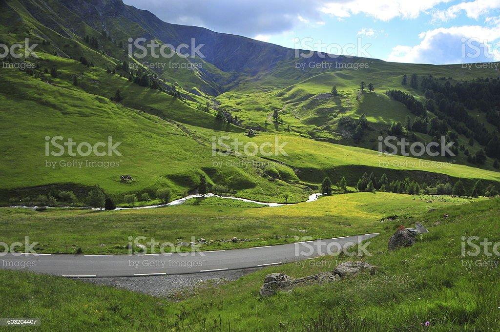 Alpes australianos foto royalty-free