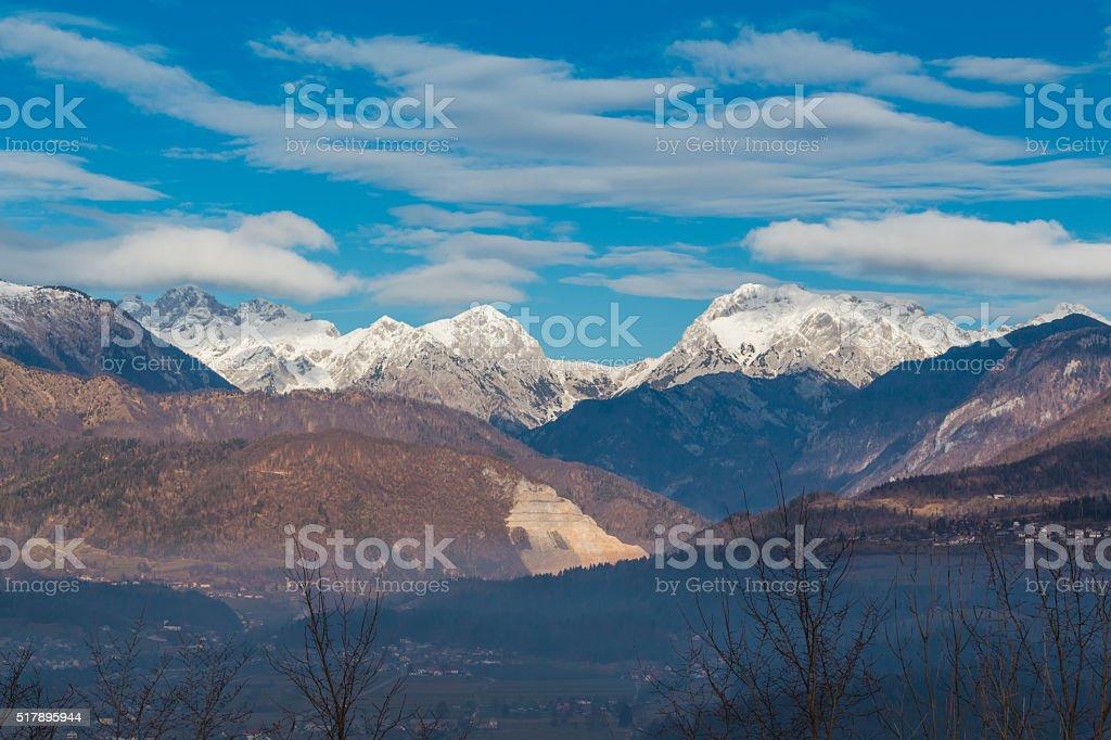 Alps. stock photo