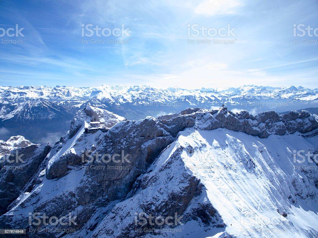 Alps - Swiss stock photo