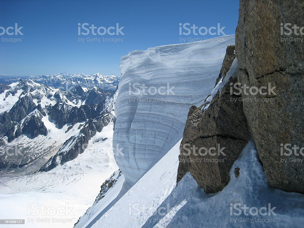 Alps View royalty-free stock photo