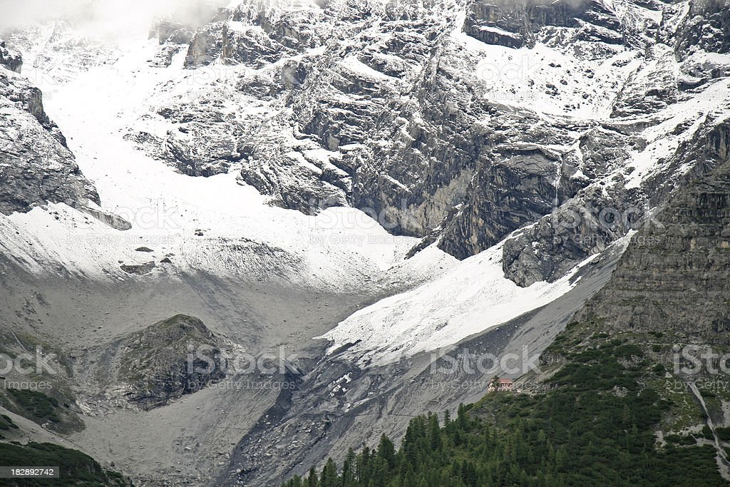Alps, view to the Ortler stock photo