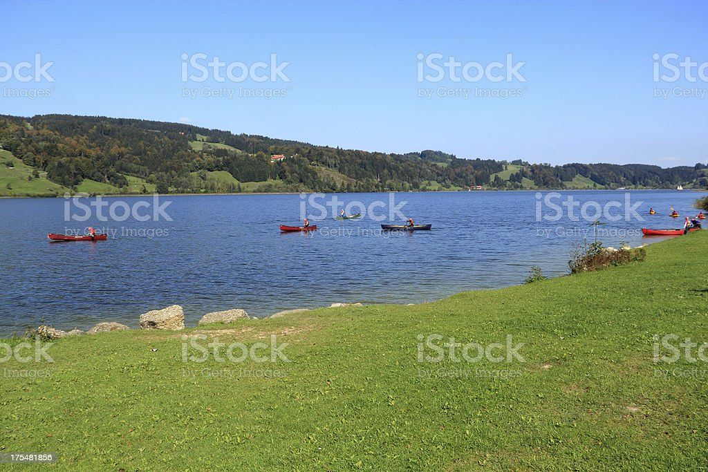 Alpsee in Germany royalty-free stock photo