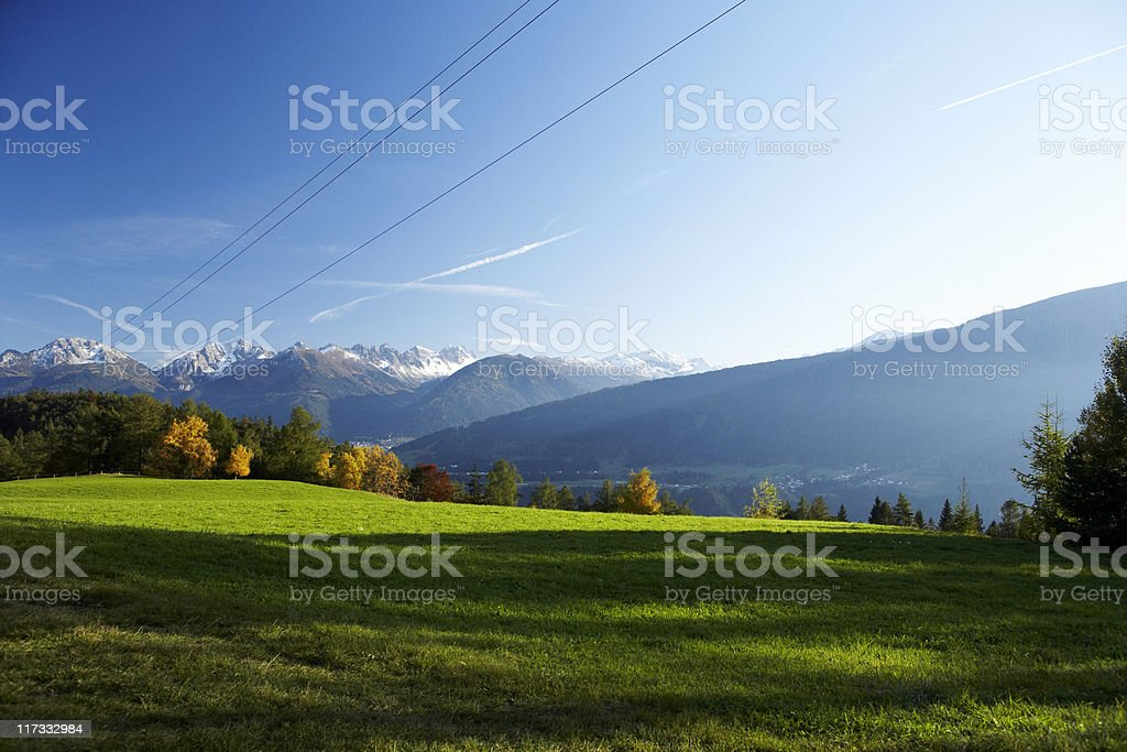 Alpspanorama royalty-free stock photo