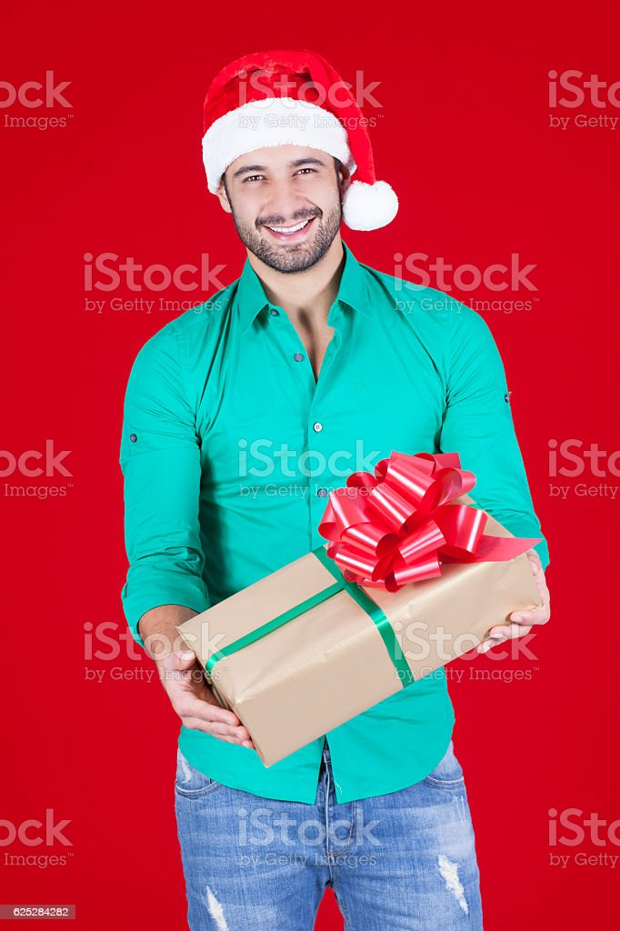 I already have my Christmas present stock photo