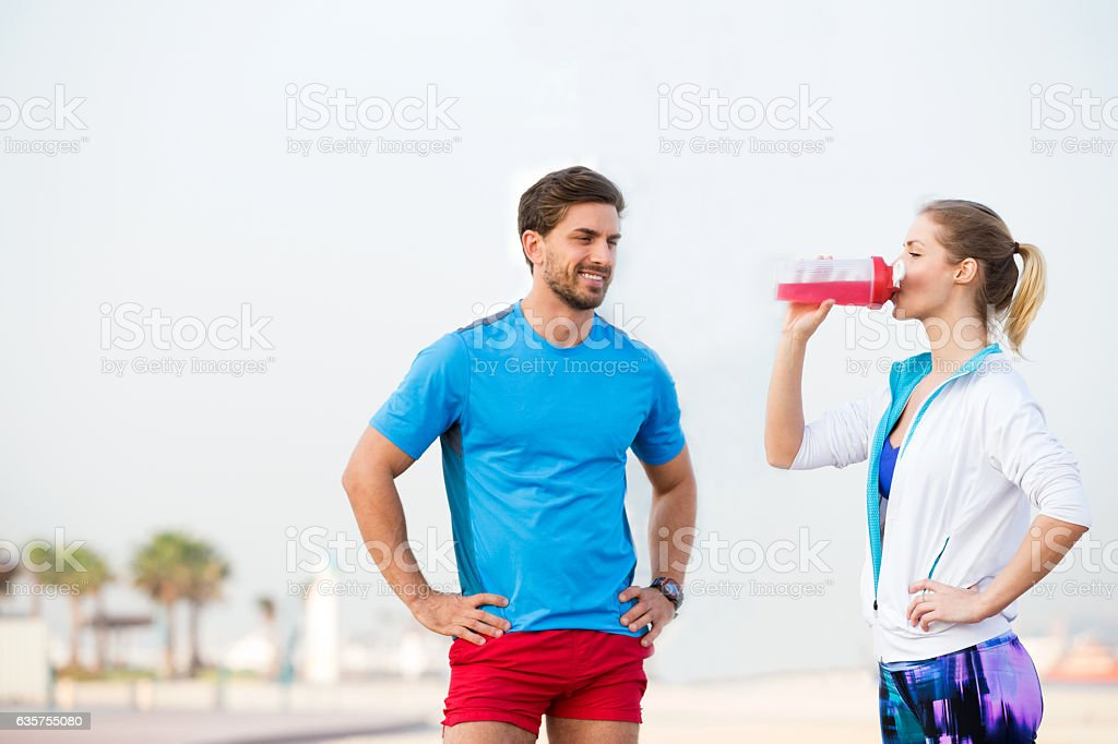 Already tired honey, we have a long way to go stock photo