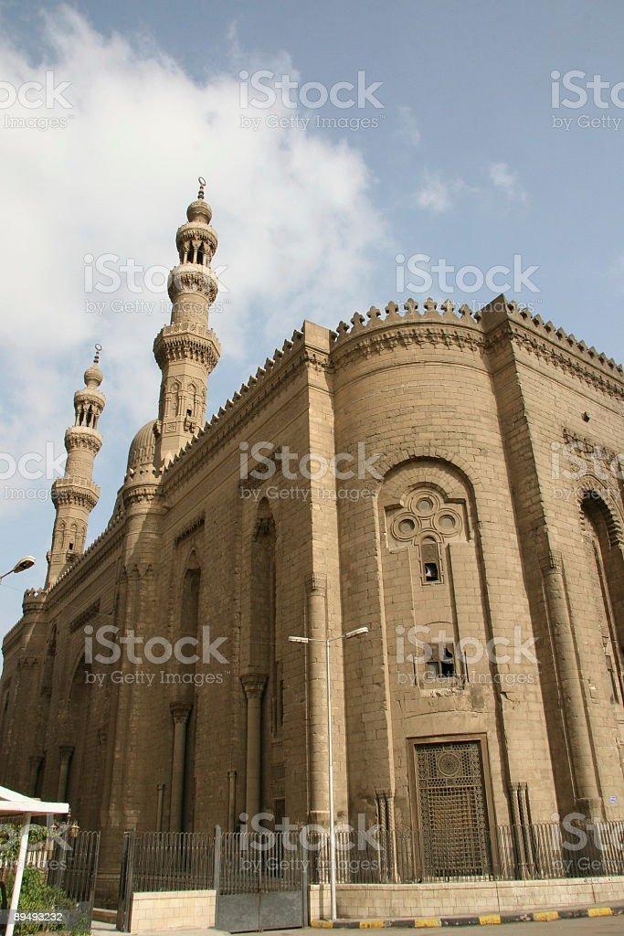 al-Refaei Mosque stock photo