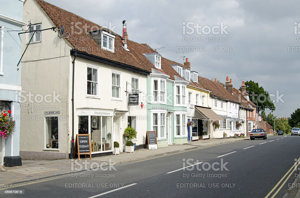Alresford, Hampshire stock photo