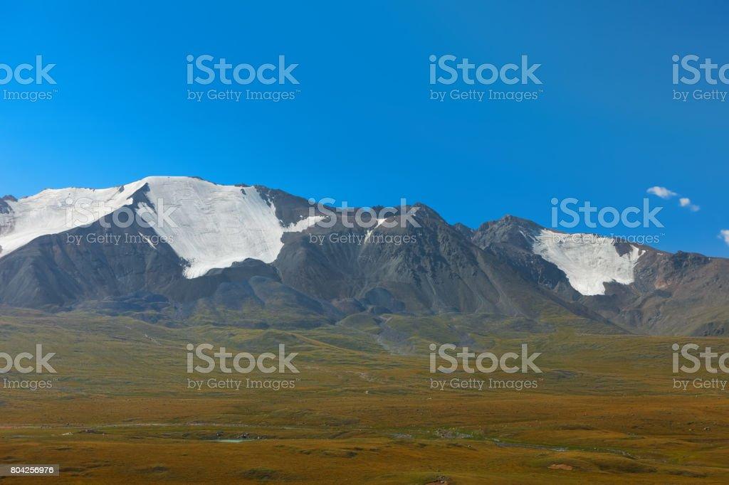 Altai mountains. Beautiful highland landscape. Mongolia stock photo