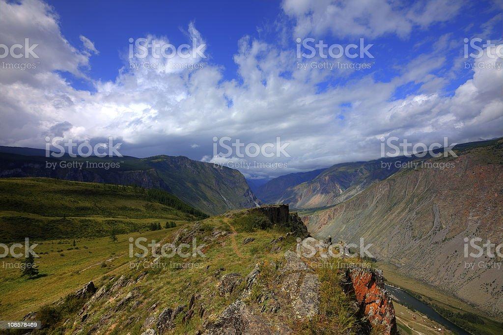 Altai mountains. Beautiful highland landscape. Russia. Siberia royalty-free stock photo
