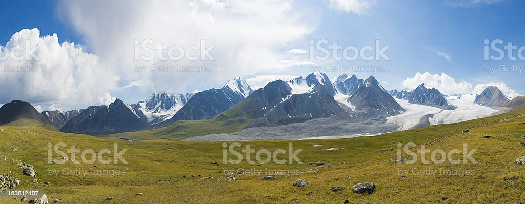 Altai Mountains royalty-free stock photo