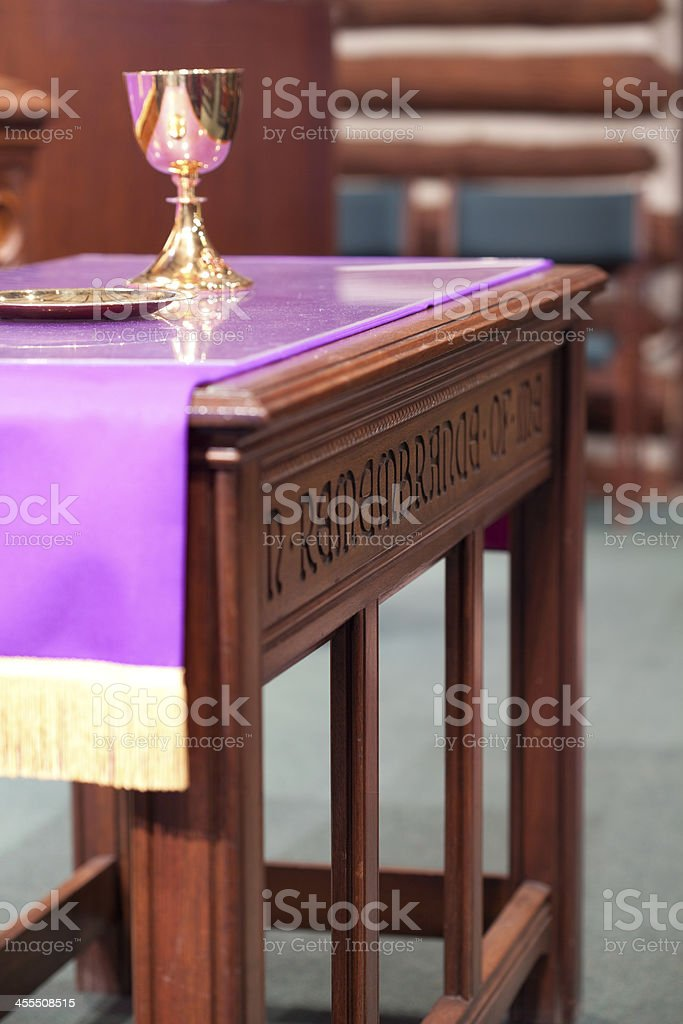 Altar Close Up royalty-free stock photo