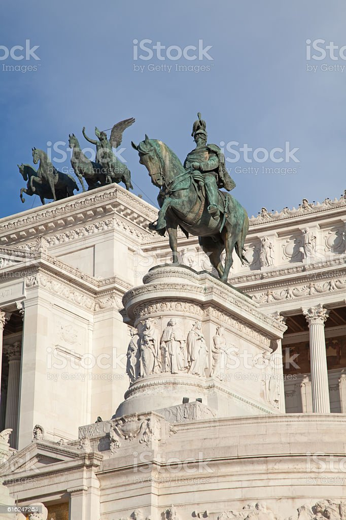 Altare della Patria stock photo
