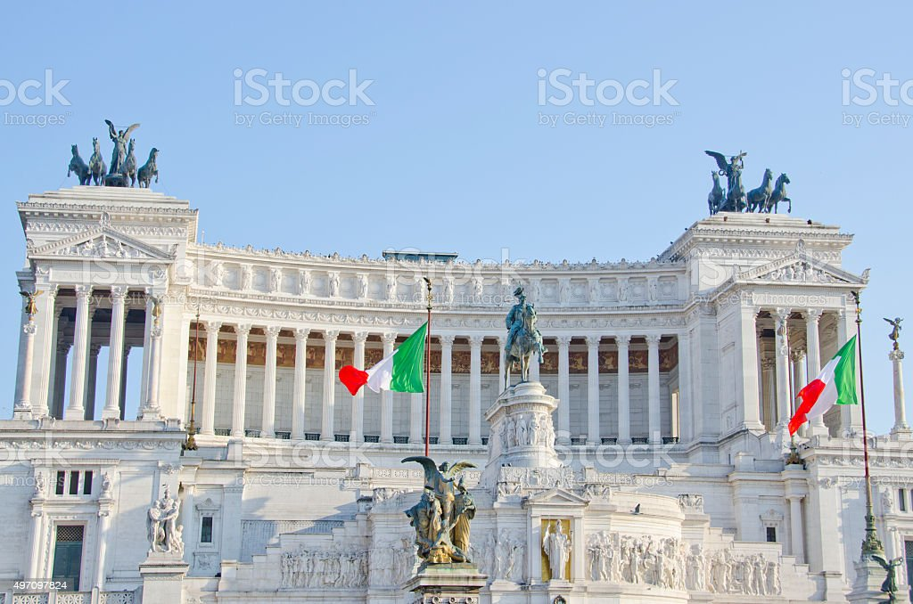 Altare delle Patria Rome, Italy stock photo