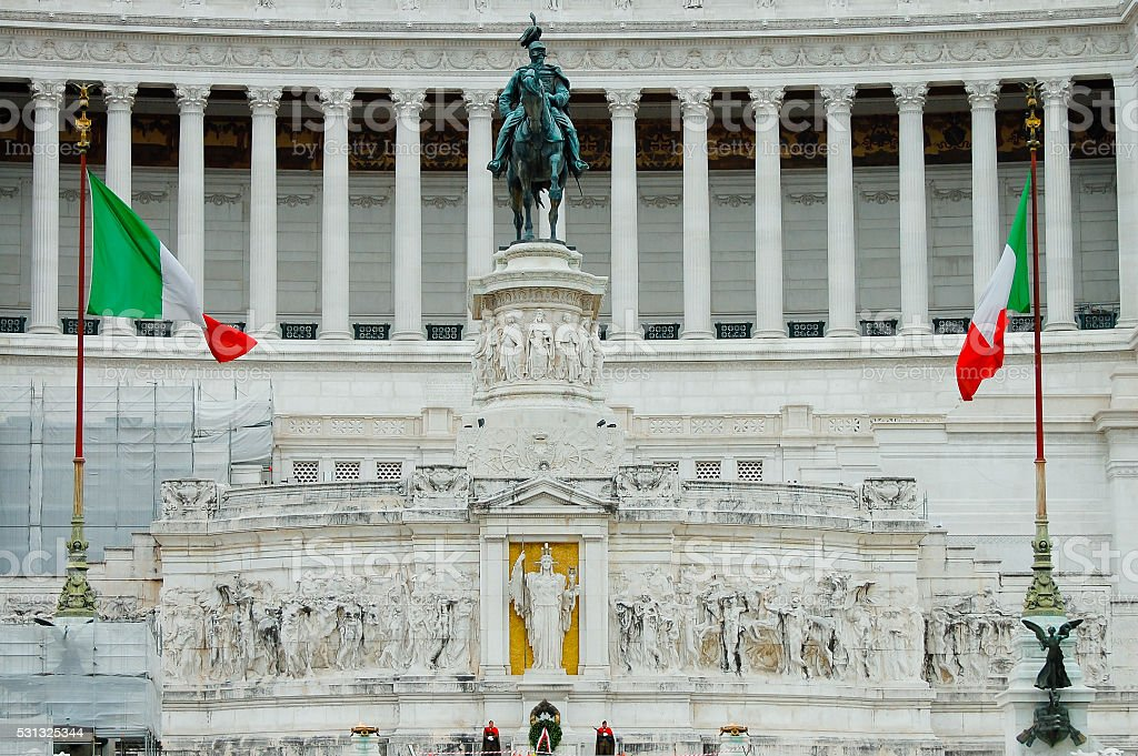 Altar of the Fatherland - Rome - Italy stock photo