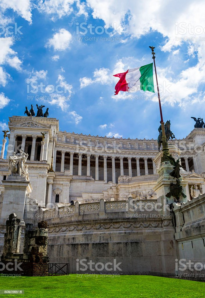 Altare della Patria, Rome stock photo