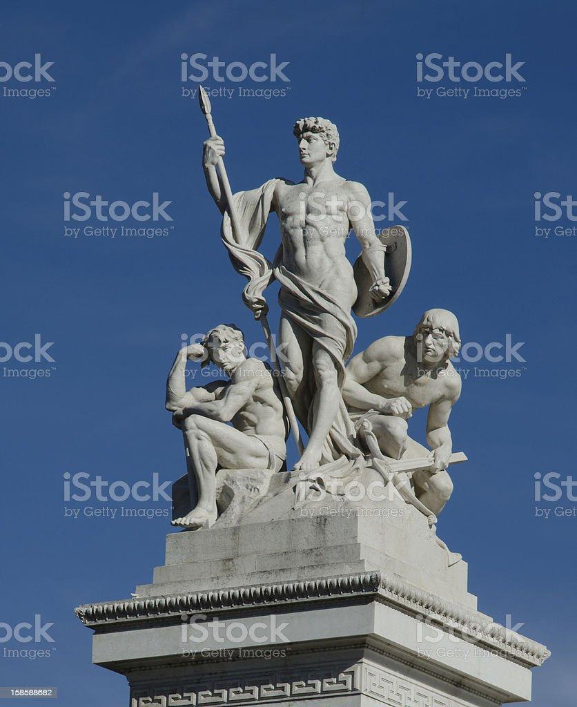 Altare della Patria in Rome, Italy royalty-free stock photo
