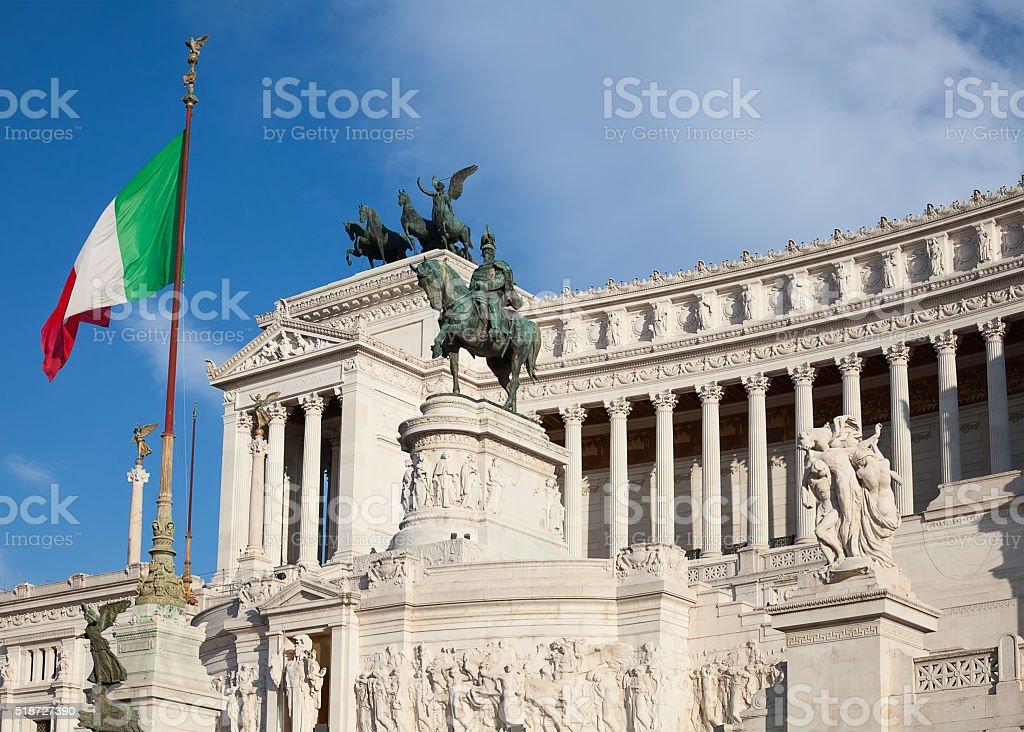 Altare della Patria stock photo