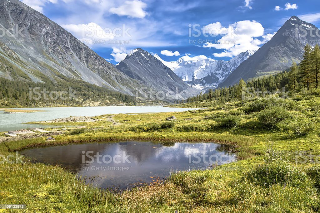 Altay Altai stock photo