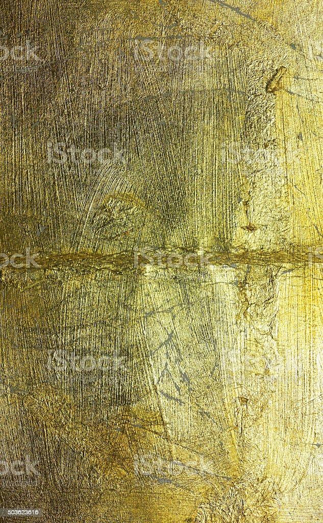 Alte goldene Oberfläche stock photo