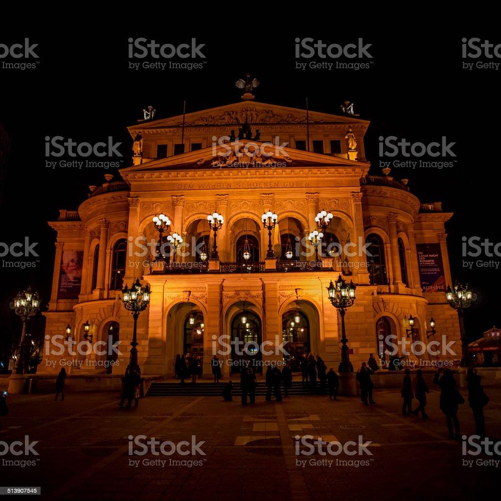 Alte Oper Frankfurt stock photo