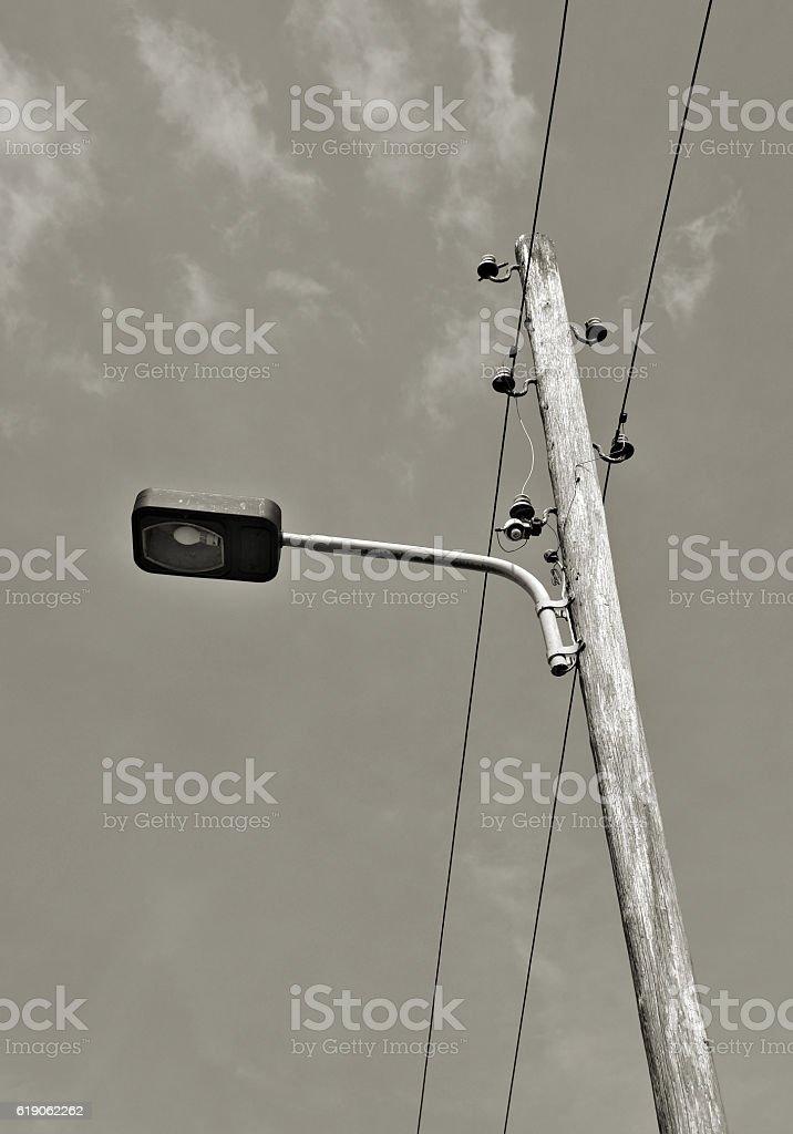 alte Straßenlaterne stock photo