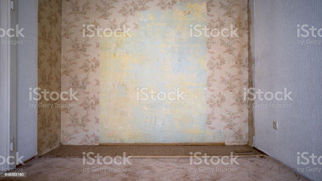 Alte Tapete stock photo