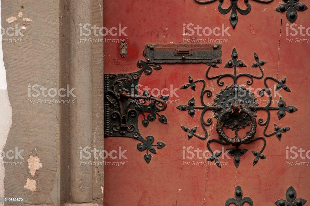 alte Tür stock photo