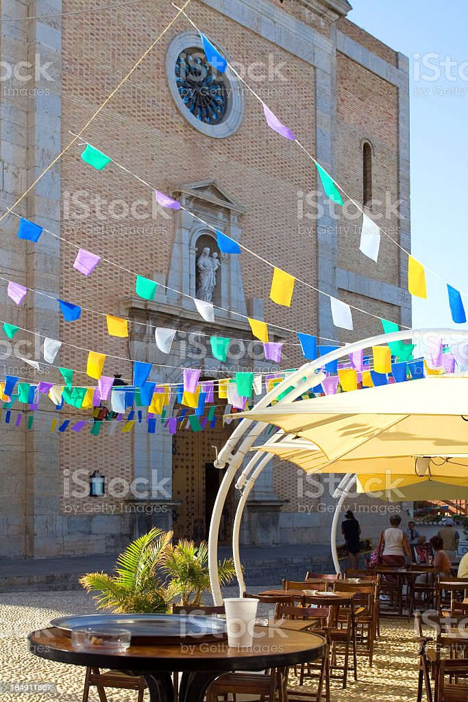 Altea Bar in the street royalty-free stock photo