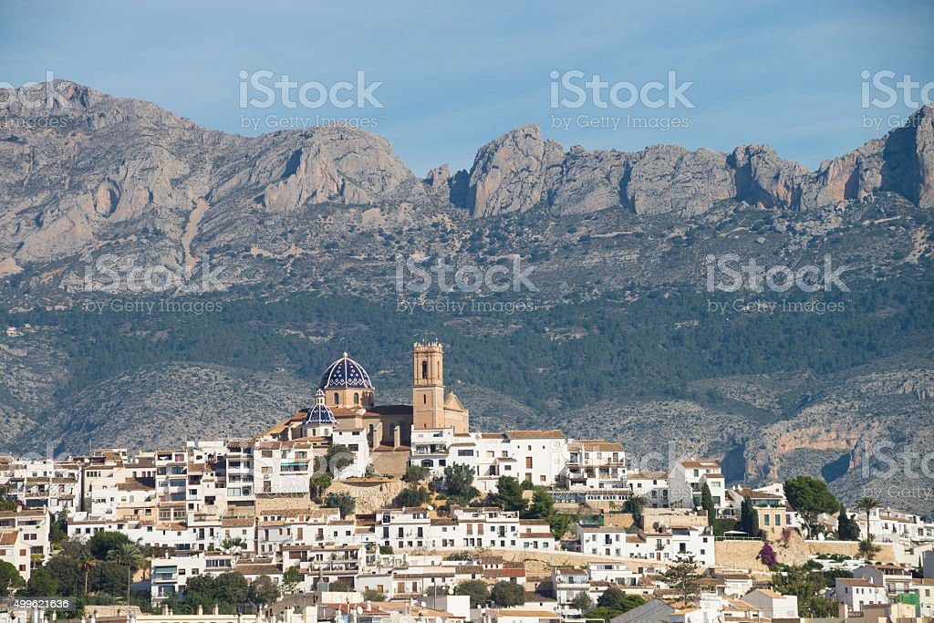 Altea stock photo