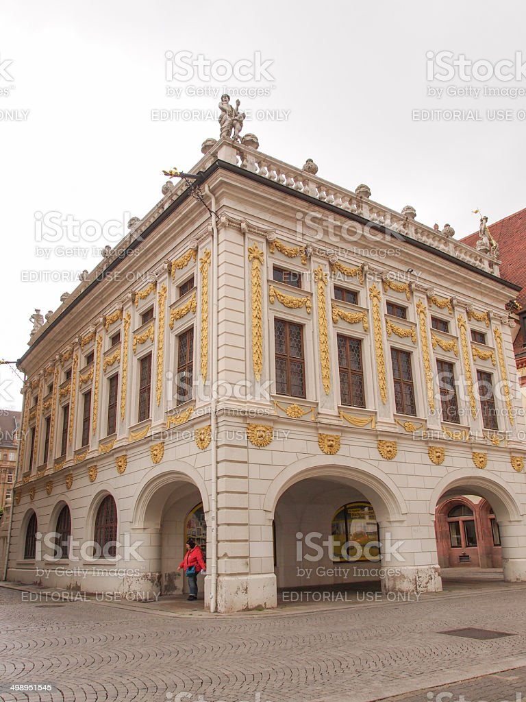 Alteborse Leipzig stock photo