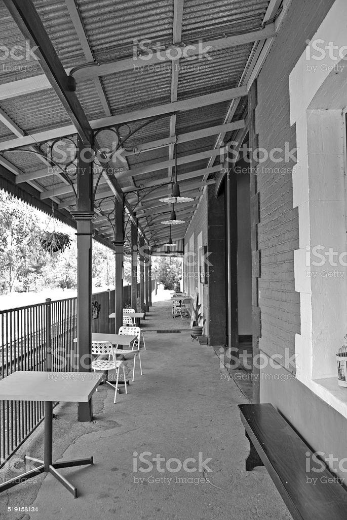 alter Bahnhof Gingin stock photo