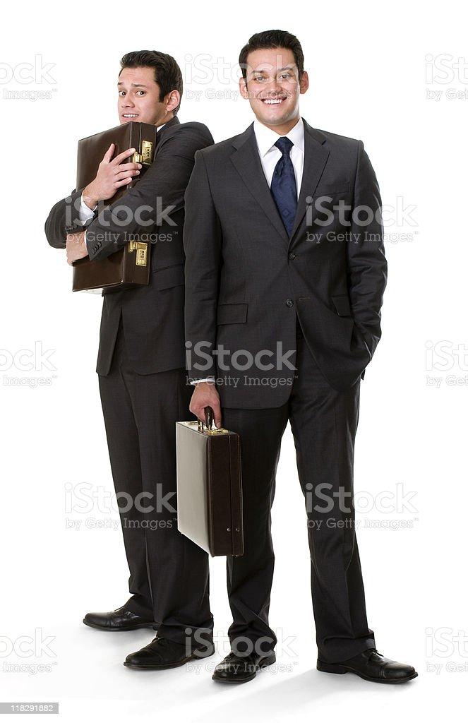 Alter Ego Of Hispanic Executive royalty-free stock photo