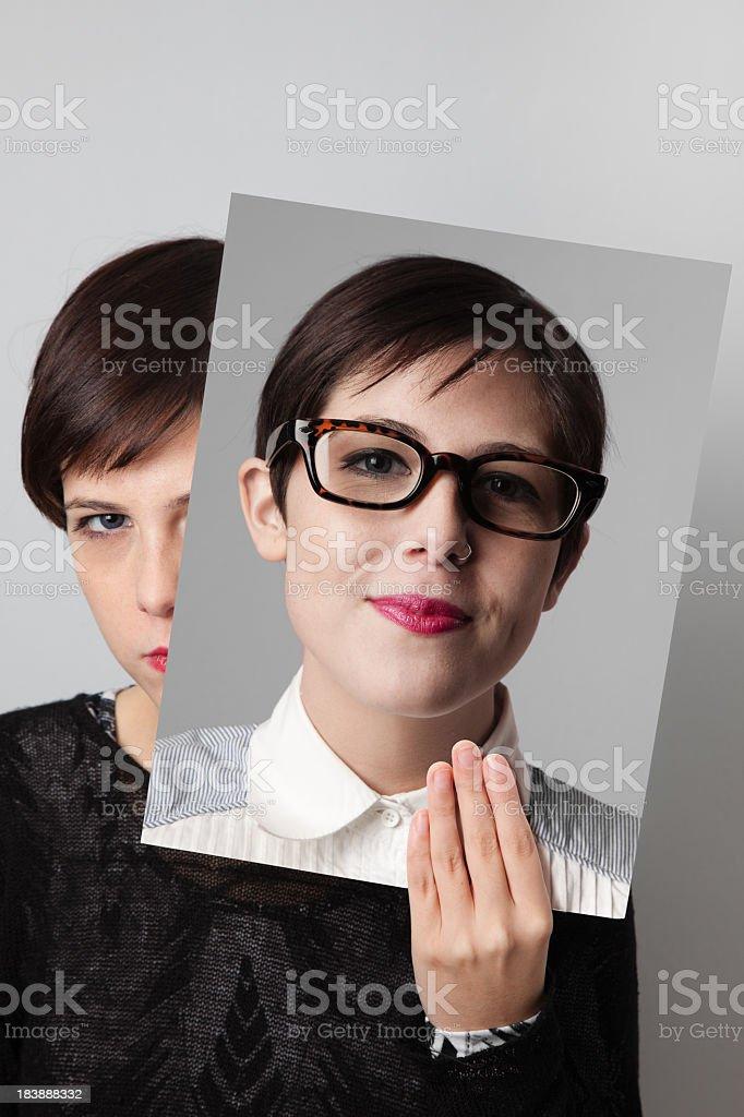 Alter ego stock photo