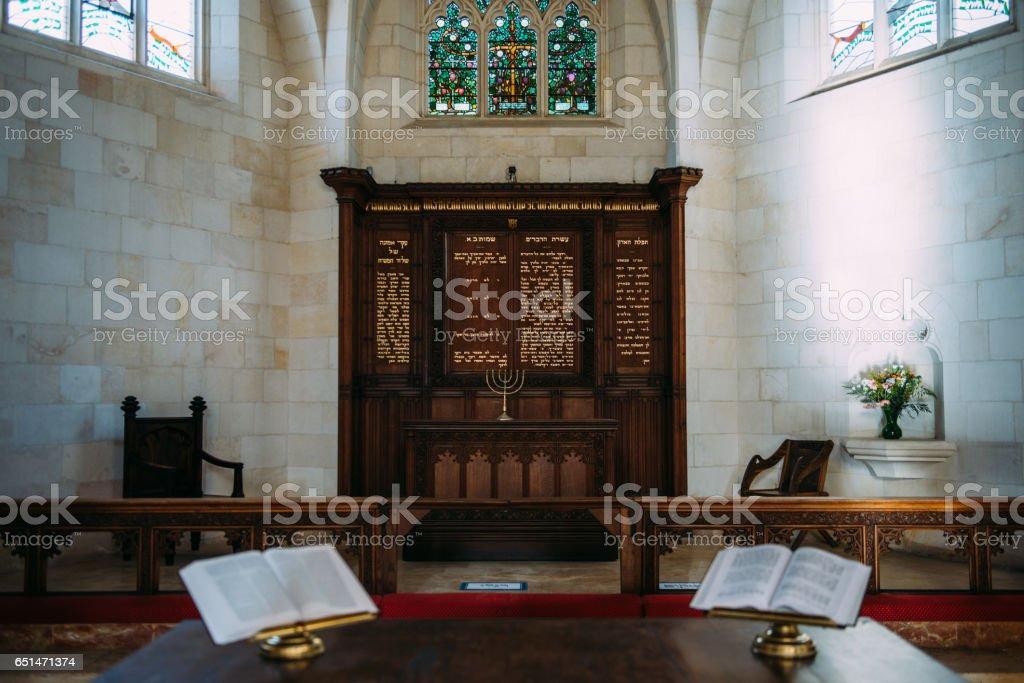 Alter of Christ Church stock photo