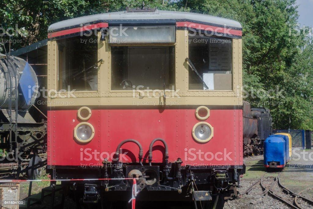 Alter S Bahn Triebwagen Berlin Pankow stock photo
