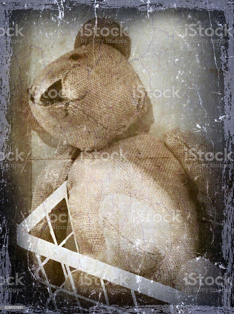 Alter Teddy stock photo