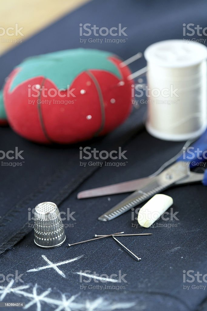 Alteration Accessories - Sewing stock photo