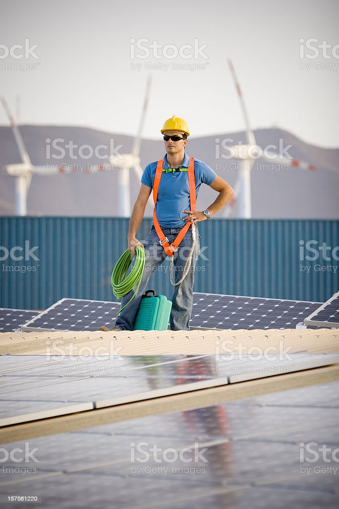 Alternative Energies royalty-free stock photo