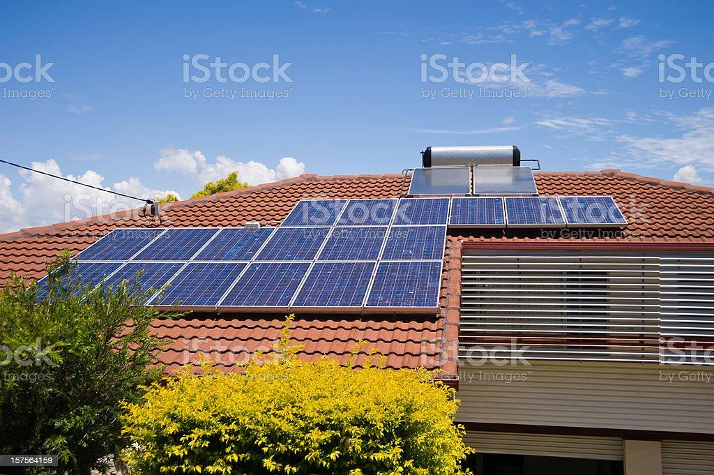 Alternative Energy Australia royalty-free stock photo